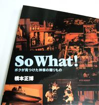 So What! 表紙カバーのアップ