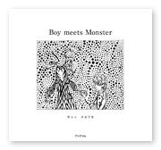 サトゥ様の絵本「Boy meets Monster」