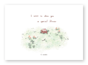 G  nanako様の絵本「I want to show you a special flower」