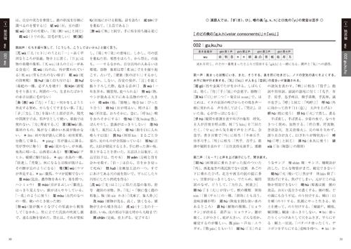 「漢語形声字典」本文その2